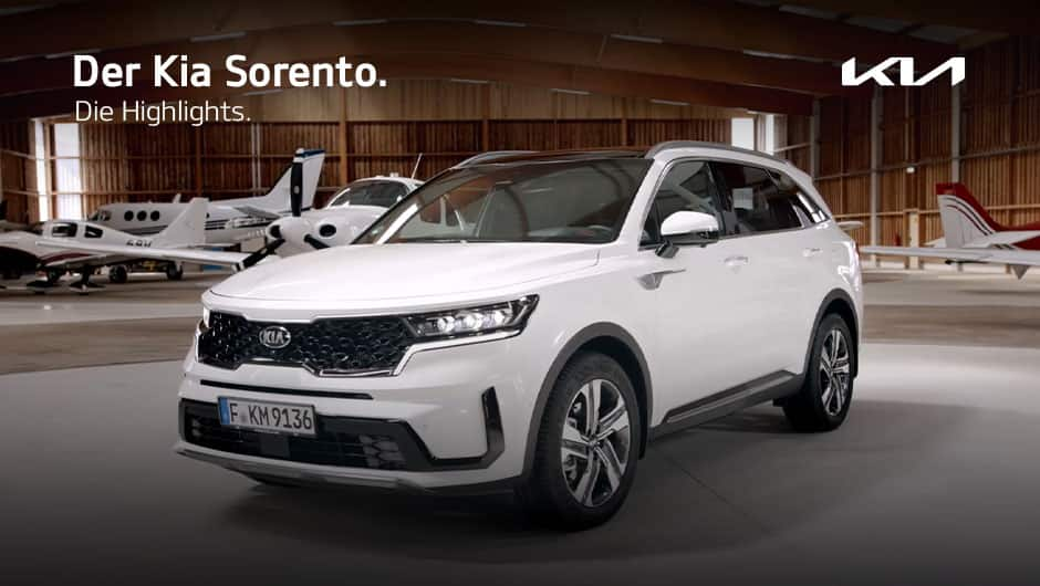 Kia Sorento Produktvorstellung Video