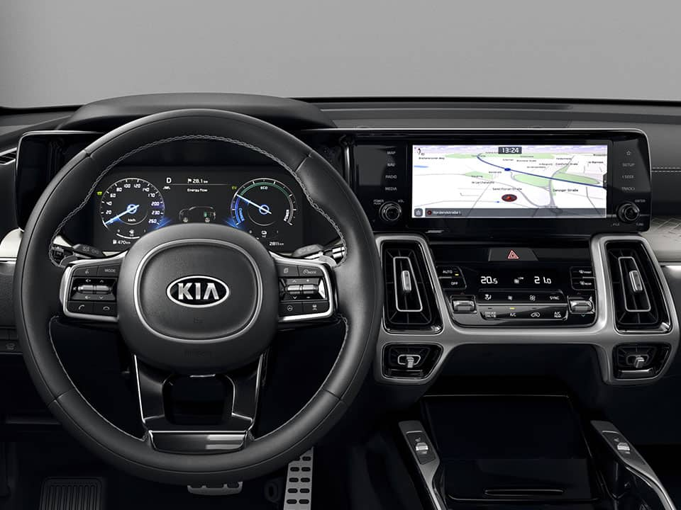 Kia Sorento Hybrid Doppel-Display