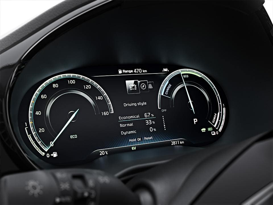 Kia XCeed with 12,3-zoll-digitalcluster